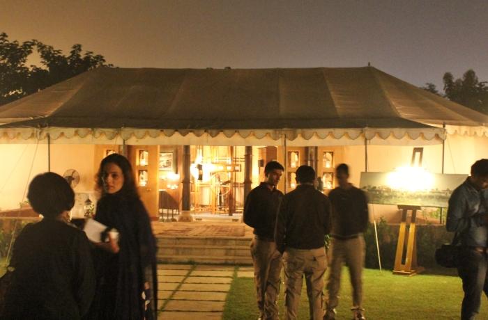 Maashra tent exterior